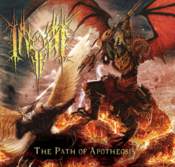 "Inferi - ""The Path of Apotheosis"" CD cover image"