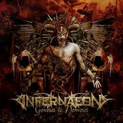 "Infernaeon - ""Genesis To Nemesis"" CD cover image - Click to read review"