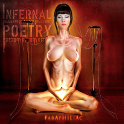 "Infernal Poetry - ""Paraphiliac"" CD cover image"