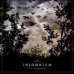 "Insomnium - ""One For Sorrow"" CD cover image - Click to read review"