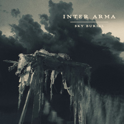 "Inter Arma - ""Sky Burial"" CD cover image - Click to read review"