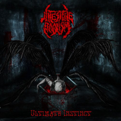 "Intestine Baalism - ""Ultimate Instinct"" CD cover image"