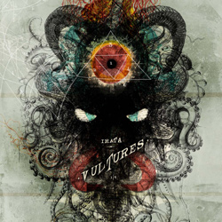 "Irata - ""Vultures"" CD/EP cover image - Click to read review"