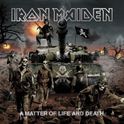 "Iron Maiden - ""A Matter of Life and Death"" CD cover image - Click to read review"