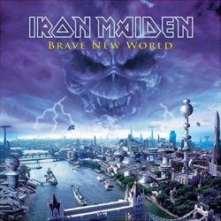 "Iron Maiden - ""Brave New World"" CD cover image - Click to read review"
