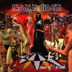 "Iron Maiden - ""Dance Of Death"" CD cover image"