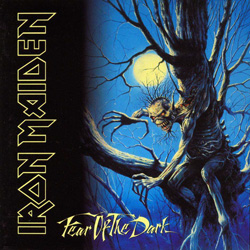 "Iron Maiden - ""Fear Of The Dark"" CD cover image"