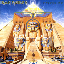 "Iron Maiden - ""Powerslave"" CD cover image"