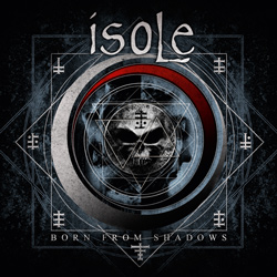 "Isole - ""Born from Shadows"" CD cover image"