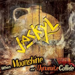 "Jackyl - ""When Moonshine And Dynamite Collide "" CD cover image"