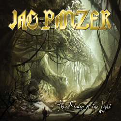 "Jag Panzer - ""Scourge Of The Light"" CD cover image"