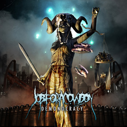"Job For A Cowboy - ""Demonocracy"" CD cover image - Click to read review"