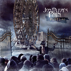 "Jon Oliva's Pain - ""Festival"" CD cover image - Click to read review"