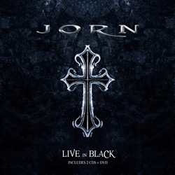 "Jorn - ""Live In Black"" 2-CD Set cover image"
