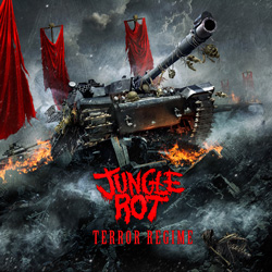 "Jungle Rot - ""Terror Regime"" CD cover image"