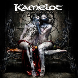 "Kamelot - ""Poetry For The Poisoned"" CD cover image"