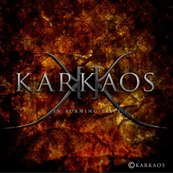 "Karkaos - ""In Burning Skies"" CD/EP cover image - Click to read review"