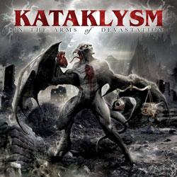 "Kataklysm - ""In the Arms of Devastation"" CD cover image"