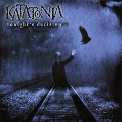 "Katatonia - ""Tonight's Decision"" CD cover image - Click to read review"