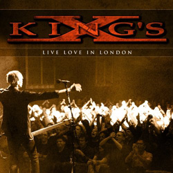 "King's X - ""Live Love In London"" 2-CD Set cover image"
