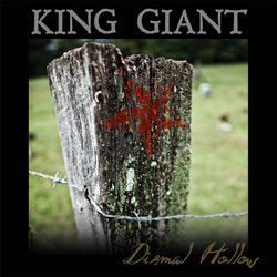 "King Giant - ""Dismal Hollow"" CD cover image"