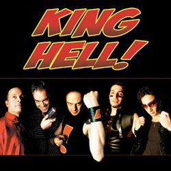 "King Hell - ""King Hell!"" CD/EP cover image"