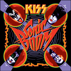 "Kiss - ""Sonic Boom"" CD cover image"