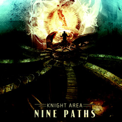 "Knight Area - ""Nine Paths"" CD cover image"