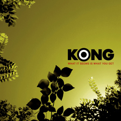 "Kong - ""What It Seems Is What You Get"" CD cover image - Click to read review"