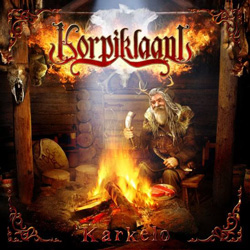 "Korpiklaani - ""Karkelo"" CD cover image - Click to read review"
