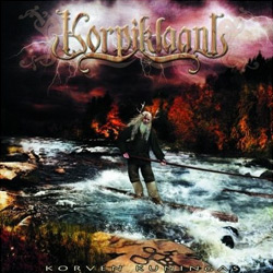 "Korpiklaani - ""Korven Kuningas"" CD cover image - Click to read review"