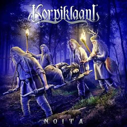 "Korpiklaani - ""Noita"" CD cover image - Click to read review"