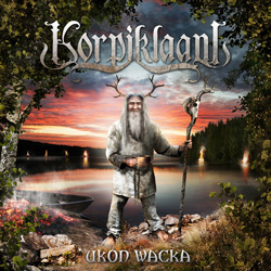 "Korpiklaani - ""Ukon Wacka"" CD cover image - Click to read review"