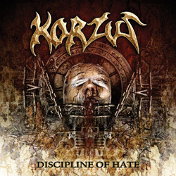 "Korzus - ""Discipline of Hate"" CD cover image"