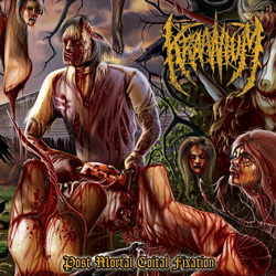 "Kraanium - ""Post Mortal Coital Fixation"" CD cover image"