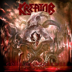 "Kreator - ""Gods Of Violence"" CD cover image"