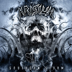 "Krisiun - ""Southern Storm"" CD cover image - Click to read review"