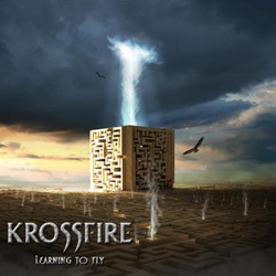 "Krossfire - ""Learning to Fly"" CD cover image"