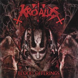 "Krotalus - ""Blood Offerings"" CD cover image - Click to read review"
