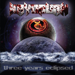 "Kryoburn - ""Three Years Eclipsed"" CD cover image"