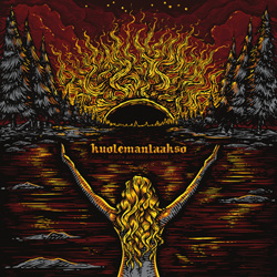 "Kuolemanlaakso - ""Musta Aurinko Nousee"" CD/EP cover image"