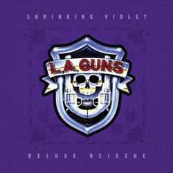 "L.A. Guns - ""Shrinking Violet - Deluxe Reissue"" CD cover image - Click to read review"