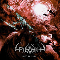 "Lahmia - ""Into The Abyss"" CD cover image"
