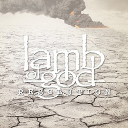 "Lamb of God - ""Resolution"" CD cover image - Click to read review"