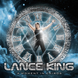 "Lance King - ""A Moment In Chiros"" CD cover image"