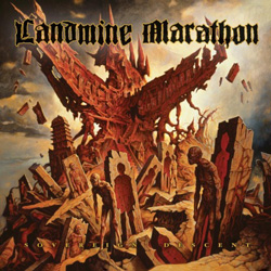 "Landmine Marathon - ""Sovereign Descent"" CD cover image - Click to read review"