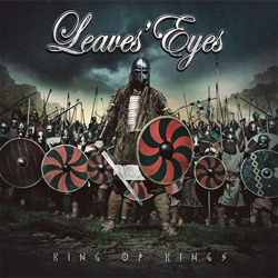 "Leaves' Eyes - ""King Of Kings"" CD cover image - Click to read review"