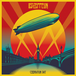 "Led Zeppelin - ""Celebration Day"" 2-CD Set cover image - Click to read review"