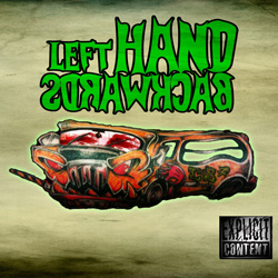 "Left Hand Backwards - ""Left Hand Backwards"" CD cover image"