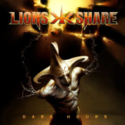 "Lion's Share - ""Dark Hours"" CD cover image"
